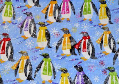 Benartex- Penguin Flannel 2