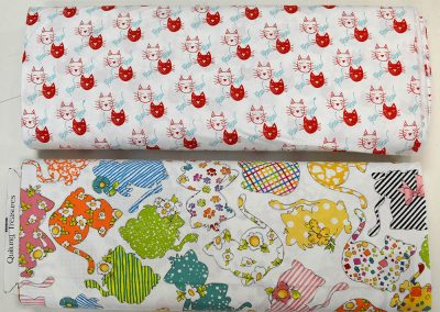 Quilting Treasures - Happy Cats