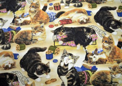 Wilmington Prints - Cats & Sewing