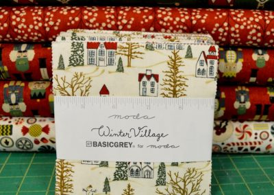 Winter Village Charm Pack and Coordinates